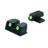 "Meprolight Fixed Night Sight Springfield XD 9mm/.40 S&W for 4-5"" Barrels Green Front & Green Rear"