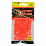 Magic Products Simulated Biodegradable Bait Eggs for Trout 1 oz - Bright Red/Vanilla