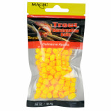 Magic Products Trout Micro Marshmallow Bait .65 oz - Yellow/Cheese