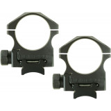 "Nightforce Steel Ring Set 30mm, 1.125"" High"