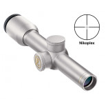 REFURBISHED Nikon Encore Handgun Scope - 2x20mm EER Nikoplex Reticle Silver