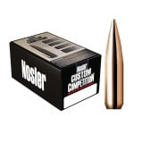 Nosler Custom Competition Bullets - .22 cal .224 dia 80 gr HPBT - 1000/ct