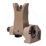 Troy Front Folding M4 Style BattleSight  FDE
