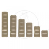Troy Rail Covers Package - 12 Pieces  FDE