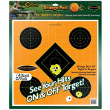 "Battenfield Technologies Caldwell Orange Peel Targets Sight-In Target - 12"", 5/Pack"