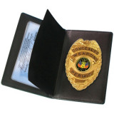PeaceKeeper Concealed Carry Badge & Wallet