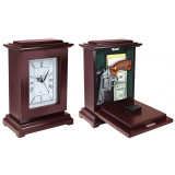 Personal Security Tall Rectangle Conceal Clock