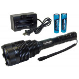 Personal Security Sabre Rechargeable Flashlight 1200 Lumen