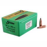 "Sierra GameKing Rifle Bullets 7mm .284"" 140 gr HPBT 100/ct"