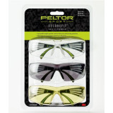 Peltor Sport Securefit 400 Eye Protection 1 Each Amber/Clear/Gray