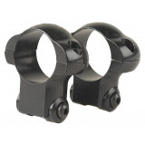 "Redfield Ruger 77 Rifle Steel Rings 1"" HIgh, Matte"