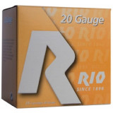 "Rio Field 20 ga 2 3/4"" 2 3/4 dr 1 oz #6 1250 fps - 25/box"