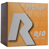 "Rio Small Game Load Shotshell 20 ga 3"" MAX 1-1/4 oz #7 1250 fps 25/Box"