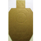 Speedwell Official IDPA Targets Cardboard Target, 100/Pack