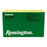 "Remington Express Magnum Buckshot Shotgun Ammo 12 ga 3"" 4 dr 10 plts #000 1225 fps - 5/box"