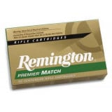 Remington Premier Match Centerfire Rifle Ammunition .223 Rem 62 gr HP 3025 fps - 20/box