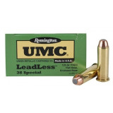 Remington UMC Centerfire Handgun Ammunition .38 Spl 180 gr FNEB  50/box