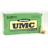 Remington UMC Centerfire Handgun Ammunition .40 S&W 230 gr FNEB  50/box