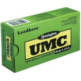 Remington UMC Centerfire Handgun Ammunition 9mm Luger 124 gr FNEB  50/box