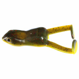 Stanley Ribbit Top Toad Rigged Soft Lure 2pk - Bull Frog