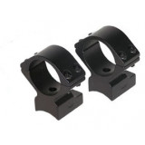 """Talley Lightweight Alloy Scope Mounts - Black Anodized 1"""" - Medium,  Anschutz (for drilled and tapped receivers), Savage Model 25"""