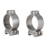 "Talley Screw Lock Detachable Scope Rings - Stainless Steel - 1"" - Low"