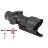 Trijicon ACOG Fixed Power Compact Scope with Sight - Red Illum. Crosshair .223