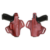 Tagua Gunleather Thumb Break Belt Holster for S&W M&P 9/357/40 Brown Right Hand