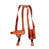 TAGUA COLT 45 BROWN RIGHTHAND SHOULDER LEATHER HOLSTER RIG