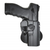 Tagua Gunleather Push Button Lock Style Holster for Ruger LC9 w/CT Laser Black Right Hand