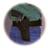 Uncle Mike's Sidekick Hip Holster for Small autos (.22 -.25 cal.) in Black Right Hand