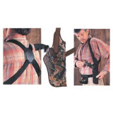 "Uncle Mike's Sidekick Vertical Shoulder Holsters 5-1/2""- 6-1/2"" Bbl. SA Rev. - RH"