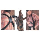 "Uncle Mike's Sidekick Vertical Shoulder Holsters Fits 3-3/4"" - 4 1/2"" Brl, Lg. Auto - RH"