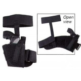 "Uncle Mike's Sidekick Ankle Holsters Fits 3"" - 4"" Barrel, Med. Autos .32 - .380 cal. - Right Hand"