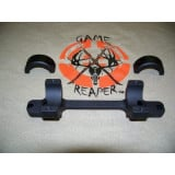 """DNZ 1-Piece Freedom Reaper Tactical Scope Mount - Remington 700 SA, 1"""" Low - Tactical Black"""