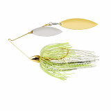 War Eagle Gold Frame Double Willow Spinnerbait Lure 1/2 oz - Spot Remover