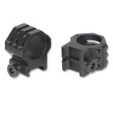 Weaver 6-Hole Tactical Rings - Matte