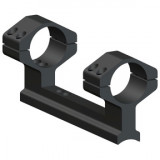 Weaver 1-Piece Muzzleloader Integral Ring & Scope Base Mount System Thompson Center Encore, Omega, Triumph, Impact - Matte - High