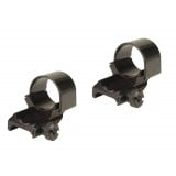 "Weaver Detachable Extension Top Mount Rings - 1"" High Dual EXT - Black"
