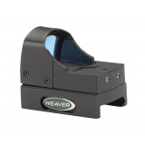 Weaver Micro Red Dot Sight - 1 x (Low Mount) 4 MOA Red/Green - Matte