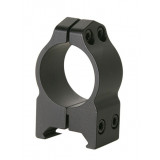 "Warne Maxima Fixed Scope Rings with Grooved Receiver - 1"", High, Matte CZ 550 19mm Dovetail"