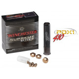 "Winchester Supreme Elite PDX1 Personal Defense Shotgun Ammunition .410 ga 2 1/2""  3 disc, 12 plts Slug 750 fps - 10/box"
