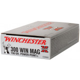Winchester Super-X Power Point Rifle Ammunition .300 Win Mag 150 gr PSP 3290 fps - 20/box