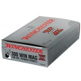 Winchester Super-X Power Point Centerfire Rifle Ammunition .300 Win Mag 180 gr PSP 2960 fps - 20/box