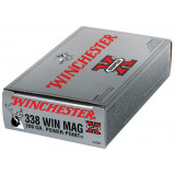 Winchester Super-X Power Point Rifle Ammunition .338 Win Mag 200 gr PSP 2960 fps - 20/box
