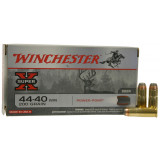 Winchester Super-X Centerfire Rifle Ammunition .44-40 Win 200 gr SP 1190 fps - 20/box