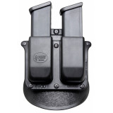 Fobus Glock, H&K 9mm, .40 Double Magazine Roto-Holster Paddle Pouch Double-Stack