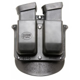 Fobus for Glock .45 ACP, 10mm Double Magazine Roto-Holster Paddle Pouch