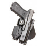 Fobus Glock 17/22/31 Tactical Roto Paddle Holster w/ Laser Light