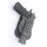Fobus Springfield 1911 w/ Rails Evolution Paddle Holster